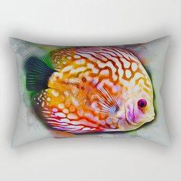 Discus Fish Rectangular Pillow