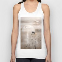 seahorse Tank Tops featuring Seahorse by Laake-Photos