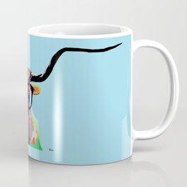 Hipster Longhorn Coffee Mug