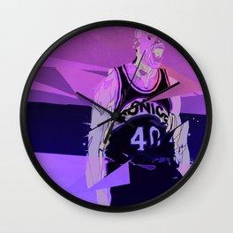 Seattle Reign Man Wall Clock