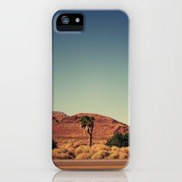 Joshua Tree. iPhone Case