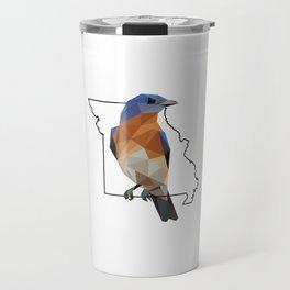 Missouri – Eastern Bluebird Travel Mug