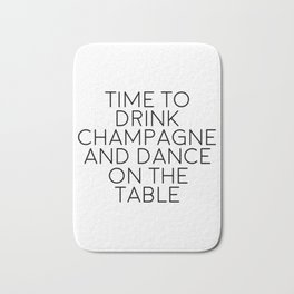 Party Decorations Chamapage Gift Party Like Gatsby Birthday Decorations Bar Decor Quotes Champagne Bath Mat