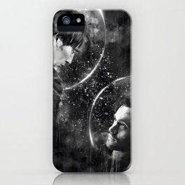 Call me across the universe iPhone Case