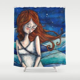 Orion's Fate Shower Curtain