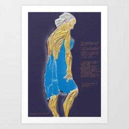 Desesperada Art Print