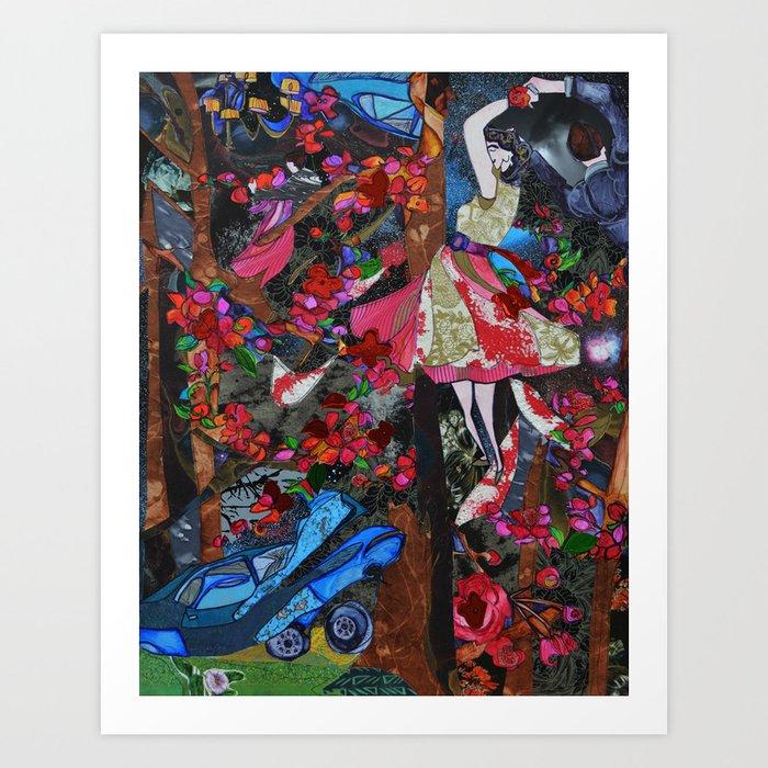 White Lady of Branch Brook Park (2) Art Print
