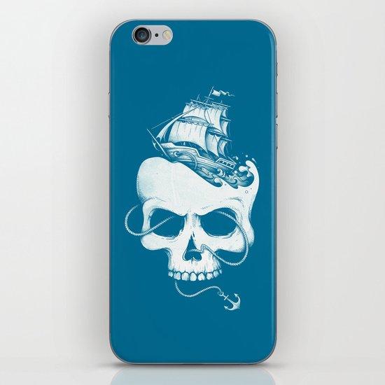 Sailing the Dead Sea iPhone Skin
