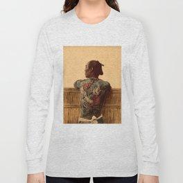 Tattooed Samurai Long Sleeve T-shirt