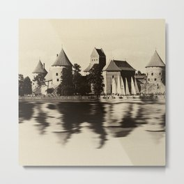 Castle of Trakai Metal Print