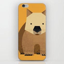 Whimsy Wombat iPhone Skin