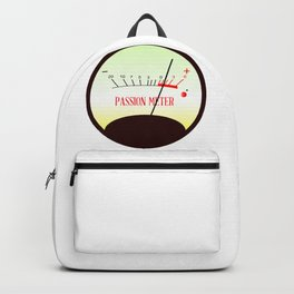 Red Hot Passion Meter Backpack
