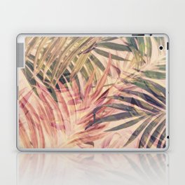 Palm Leaves in pink Laptop & iPad Skin