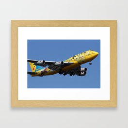 All Nippon Airways - ANA Boeing 747-481D Framed Art Print