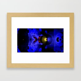 der Kreislauf Framed Art Print