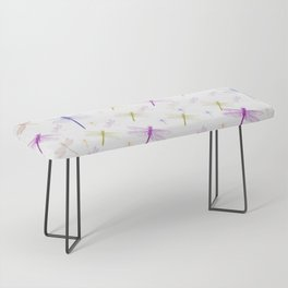 Dragonfly Pattern Bench