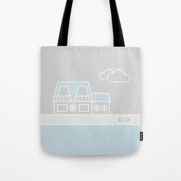 Lagoon House Tote Bag