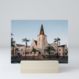 First Presbyterian, Santa Ana Mini Art Print