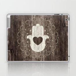 Boho Heart in hand Laptop & iPad Skin