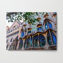 Casa Batllo: Barcelona, Spain Metal Print