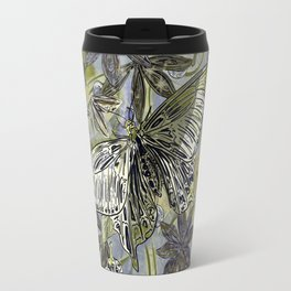 Butterfly on the Green Travel Mug