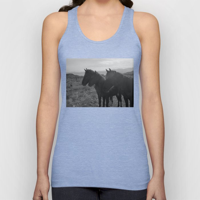 Desert Horses Unisex Tank Top