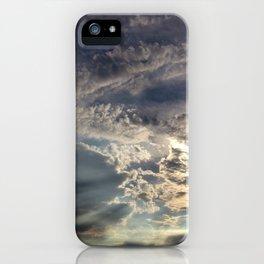 Temperamental Sky iPhone Case