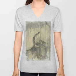 "PIANO. A SERIES OF WORKS ""MUSIC OF THE RAIN"" Unisex V-Neck"