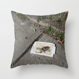 Do Not Touch Throw Pillow