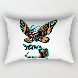 Mothra Kaiju Print FC Rectangular Pillow