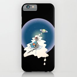 ... to Purrypton and back iPhone Case
