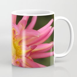 dahlia flower in the flower bed Coffee Mug