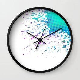 Splatter Wall Clock