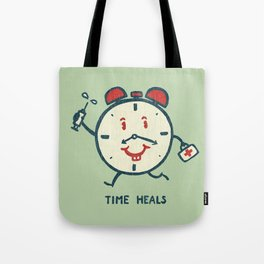 Time heals Tote Bag