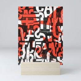 Dyslexia Mini Art Print