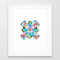 blossom Framed Art Prints featuring Blossom by Heaven7