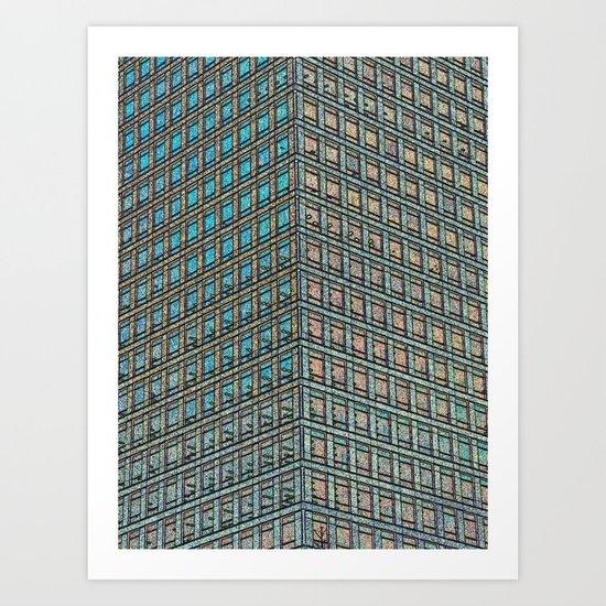 Skyscraper Art Art Print