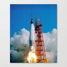First manned orbital space flight Canvas Print