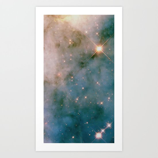 SPARKLING MILKY WAY GALAXY #2 Art Print