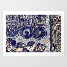 Runas. Art Print