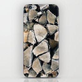 Woodpile I iPhone Skin