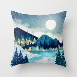 Morning Stars Throw Pillow