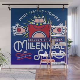 Gamer Geeky Chic Chrono Trigger Inspired Millennial Fair Videogame Fun Wall Mural
