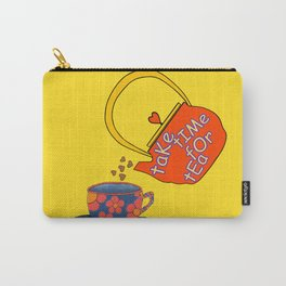 Take Time For Tea Carry-All Pouch