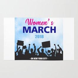 women's march Rug