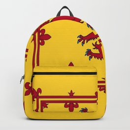 RED LION & YELLOW ROYAL BANNER OF SCOTLAND Backpack