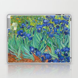 Vincent Van Gogh Irises Painting Laptop & iPad Skin