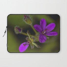 Wid Purple Laptop Sleeve