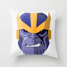 Thanos Throw Pillow