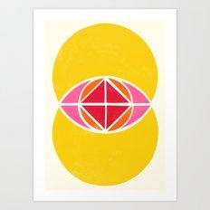 Vesica Piscis 1 Art Print